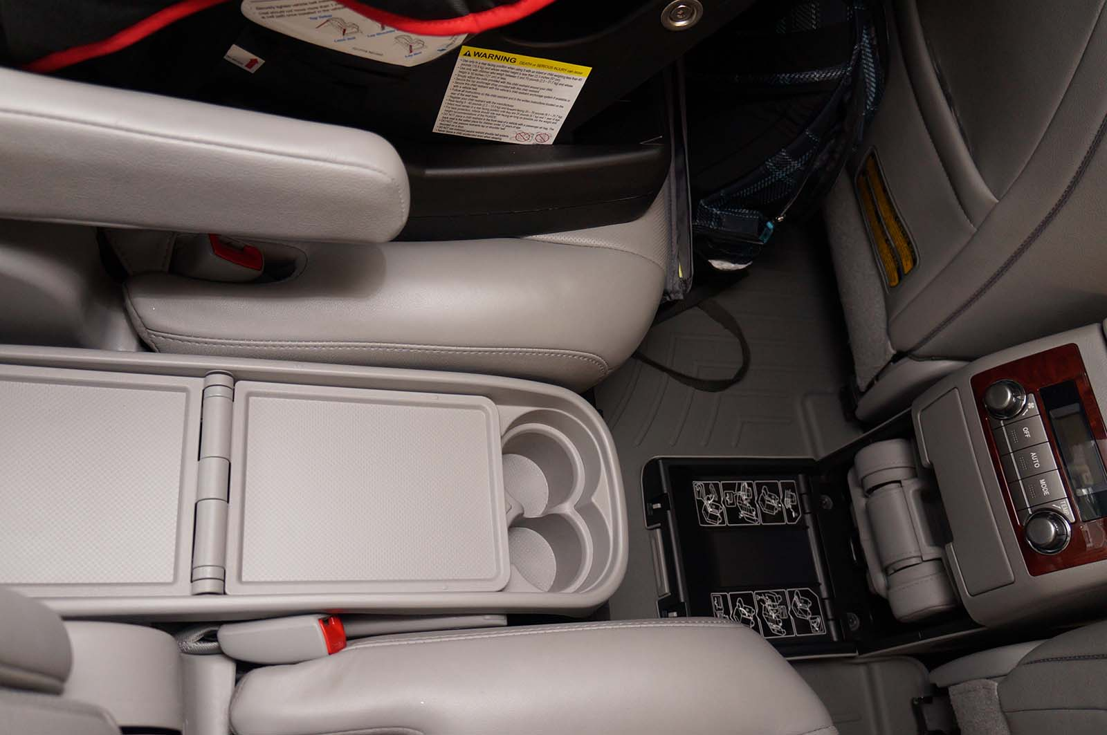 2012 Toyota Highlander middle seat 4 by Sarah Franzen