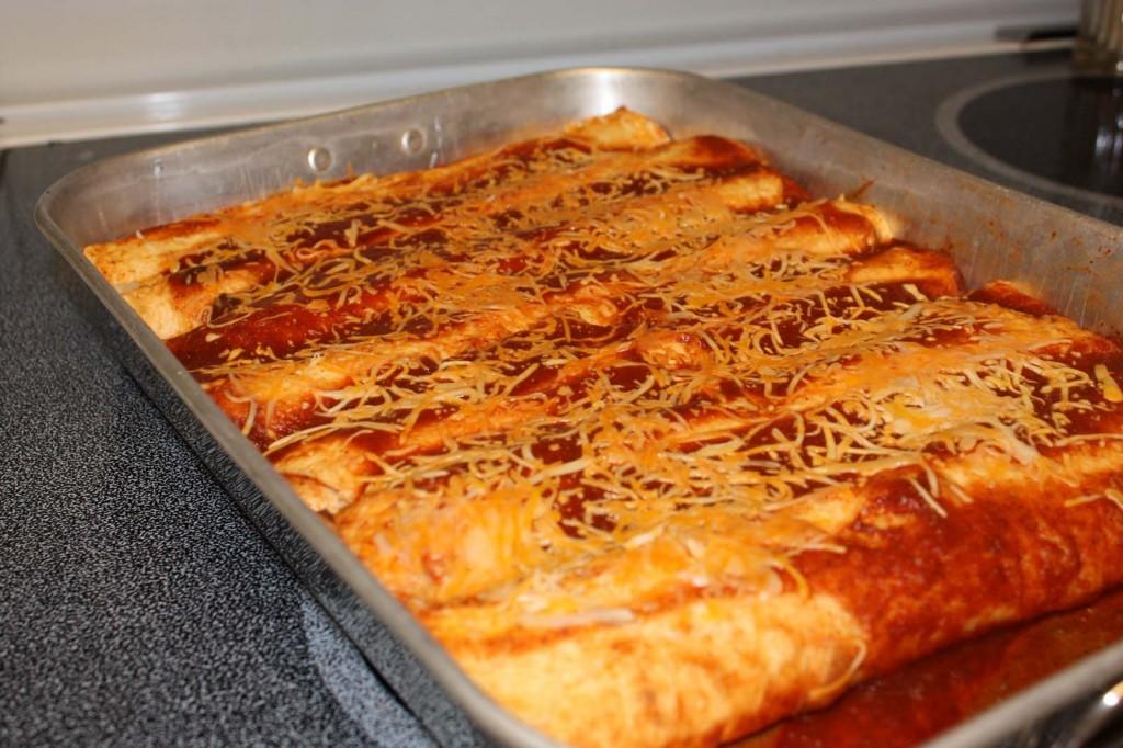 Almost Authentic Cheese Enchiladas Sezen