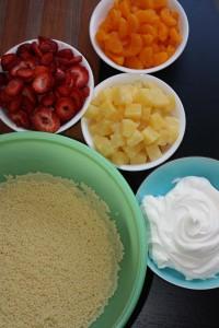 Acini de Pepe Salad Ingredients