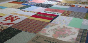 Pinned, ready for quilting