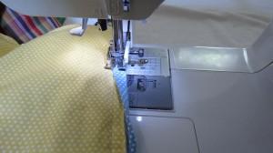 Stitching back of binding1