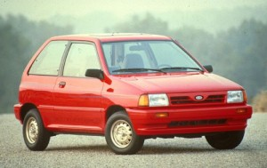 1990 Ford Festiva Photo Credit: Edmunds.com