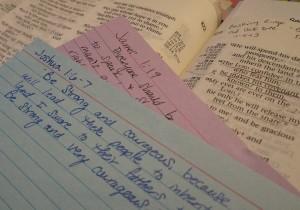 Bible Verses by Sarah Franzen