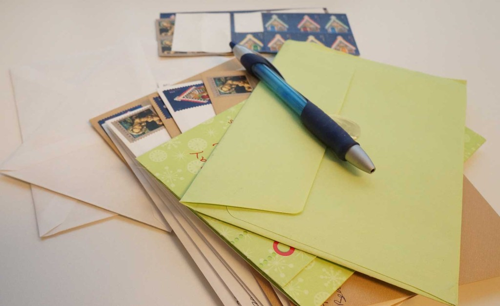 Envelopes by Sarah Franzen