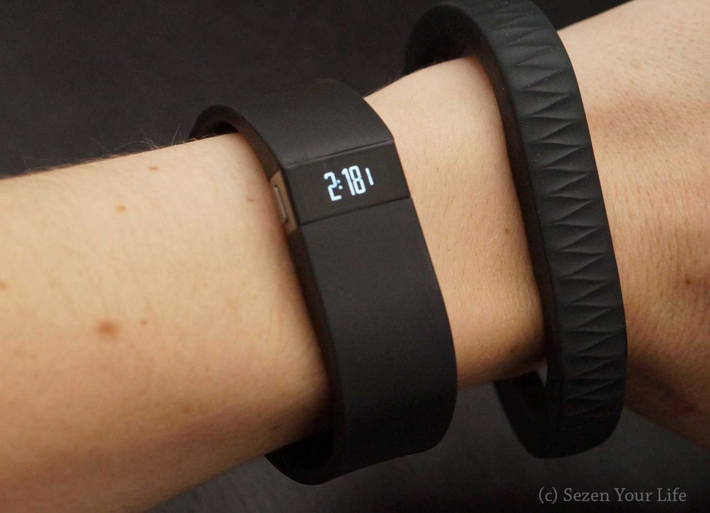 Fitbit Force and Jawbone UP