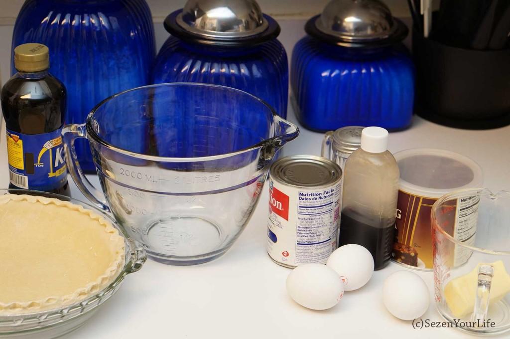 Fudge Pie Ingredients