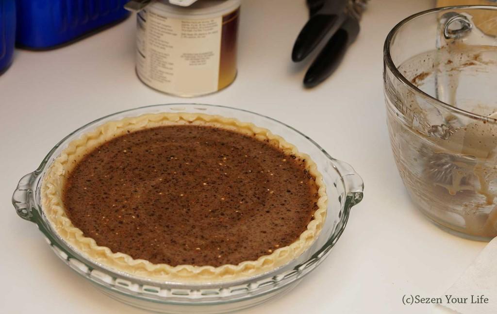Poured Fudge Pie