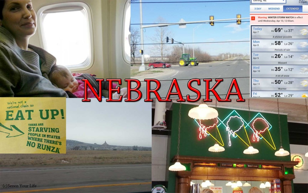 Nebraska Trip Collage
