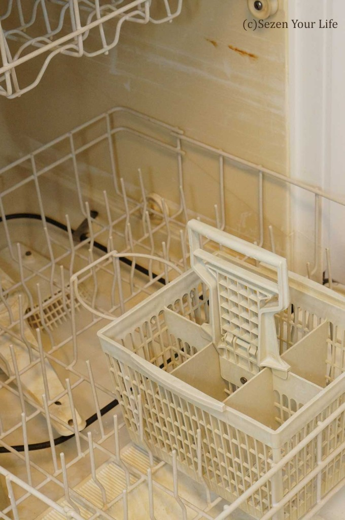 Original inside dishwasher